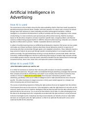 Artificial Intelligence in Advertising.docx