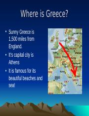 ancient greece location.ppt