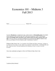 Midterm 3 (Fall 2013)