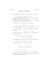 Math 325 Assignment 6 Solutions