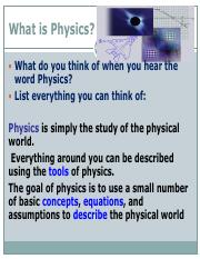 What is Physics.pdf