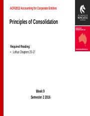 ACFI 2012 S2 2016 Lecture 9 Principles of Consolidation_BB Version