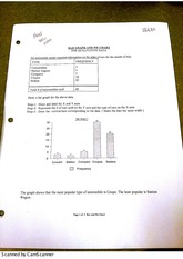 MATH 2110- Bar Graph and Pie Chart for Qualitive Data