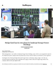 Hedge fund has plans for bankrupt Energy Future Holdings _ Fort Worth Star-Telegram.pdf