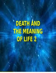 Death and Meaning 2.ppt