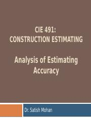Analysis of Estimating Accuracy (F17).pptx