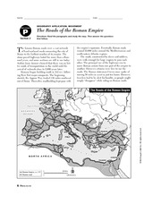 Engineering an Empire Rome Worksheet http://www.coursehero.com/file/3885321/Geography-Application-Roads-of-the-Roman-Empire/