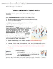 4 Compare How does the spread of a foodborne pathogen ...