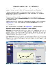 Com446 stock valuation report 2016 (1).docx