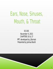 63-166  Ear Nose and Throat fall 2015 student  notes.pptx