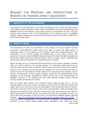 Request for Proposal training impact assessment.pdf