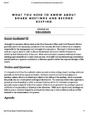 Running Board Meetings and Keeping Good Records.pdf