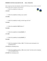 Probability with Dice and Cards Lab.docx