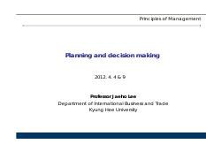 Management_120404&09_Planning_and_decision_making