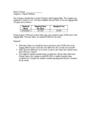 Chapter 8 - Group Problem