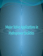 3. Major Valve Applications in Hydropower facilities.pptx