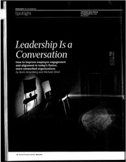 4.Leadership is a Conversation