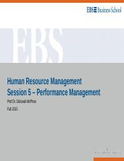 HRM Session 5 - Performance Management.ppt