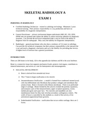 RADD 2711 Class Notes - Exam 1 Review