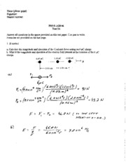 test 3a physics 1420