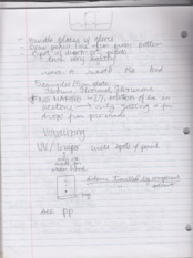handling lab material notes chromatography notes