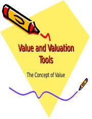 Concept of values.ppt