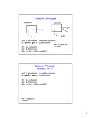 Adiabatic Processes problem sample