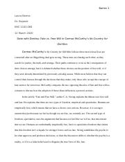 No Country for Old Men Final Draft.docx