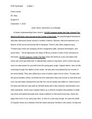 DCE Synthesis Essay