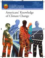 Climate Change Knowledge 2010