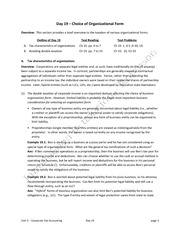 Day 19 notes organizational form sp14