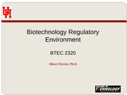 01 Introduction to Biotechnology sp14