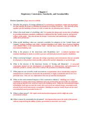 Foote- Chapter 2 Regulations Questions