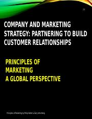 2 Partnering to Build Customer Relationship