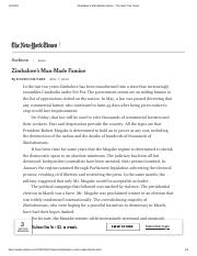 Zimbabwe's Man-Made Famine - The New York Times.pdf