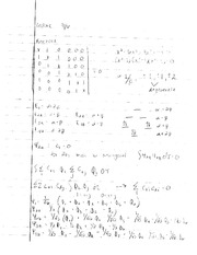 Physical Organic Chemistry Matrices Notes