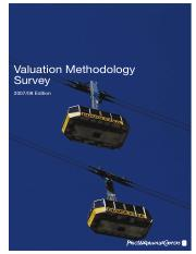 pwc_ValuationMethodologySurvey_2008 i