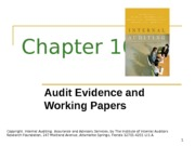 ACCT 632 Chapter 10 PowerPoint Slides