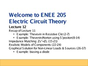 ENEE205 Fall2013 Lecture12 Gomez