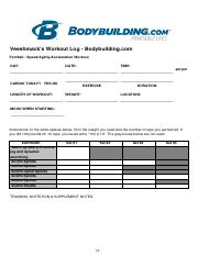 (Summer training) Football workout-Cardio.pdf