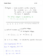 1-Number Theory
