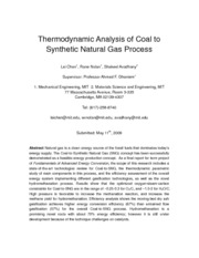 Thermodynamic_Analysis_of_the_coal_to_SNG_process