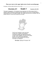 Exam1 (2013) with solutions