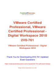 Vmware 2V0-761 updated exam material.pdf