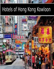 Hotels of Hong Kong Kowloon