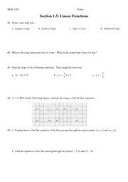 building mathematical models worksheet math 155 discussion worksheet 1. Black Bedroom Furniture Sets. Home Design Ideas