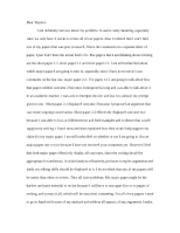 my dear father essay