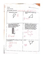 Tangent Angle Notes