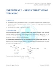 Instruction for Exp. 3_Redox titration