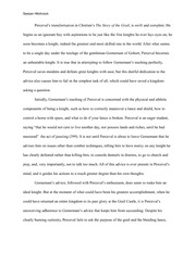 Medieval Lit Response Piece #3 (The Story of the Grail)